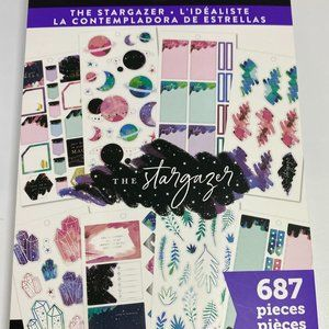 NWT The Happy Planner The Stargazer 687 Pieces